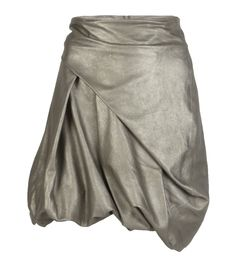 Donore Metallic Leather Skirt from Allsaints Spitalfields