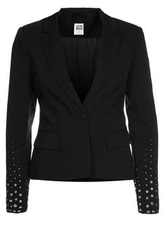Vero Moda | #blazer black with studded sleeves