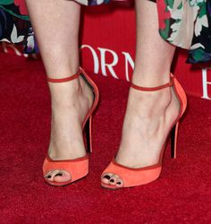 Palm Springs International Film Festival Awards: Saoirse Ronan wearing Pierre Hardy sandals.