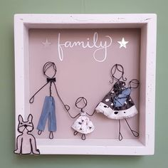 Wire Crafts, Diy And Crafts, Arts And Crafts, Ribba Frame, Wire Art, Fabric Dolls, Wedding Cake Toppers, Needle Felting, Valentine Gifts