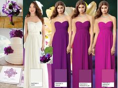 Bridesmaid dress colors!