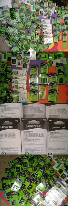 Batteries and Power Accessories: Huge Lot 88 New Rechargeable Battery Packs Nos Phones Cameras Frs Radio Aa Aaas BUY IT NOW ONLY: $50.0