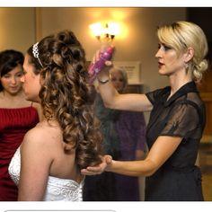 Seattle Bride Hair #wedding #hair #bride