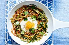 If you're looking for something different for brunch or lunch, this mouth-watering Indian spiced rosti and 'fried' egg is the perfect dish. Spiced with cumin and coriander seeds, this one-pot meal is filling, healthy and counts towards your 5-a-day. This recipe serves 1 person and takes about 20 mins to make. Amazingly, it's only 150 calories - perfect as part of the 5:2 diet.
