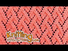 How to knit the Eyelet Mock Cable Rib stitch. It's a simple to do, but great looking rib pattern. ++ Techniques used: Knit: K | Purl: P | Yarn over: Yo. Happ...