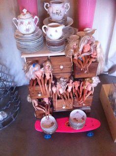 Meuble tiroir bois Poppy