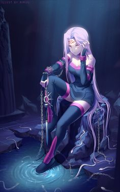 Anime:Fate/Stay Night Source: http://rimuu.deviantart.com/art/The-Cursed-Serpent-650301696