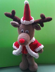 Weihnachtselch Rudi