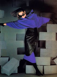 Complice, Harper's Bazaar, September 1984. Photograph by Albert Watson.
