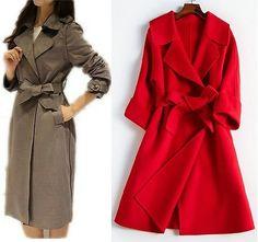 Выкройка женского пальто. Размеры евро от 36 до 56 (Шитье и крой)   Журнал Вдохновение Рукодельницы