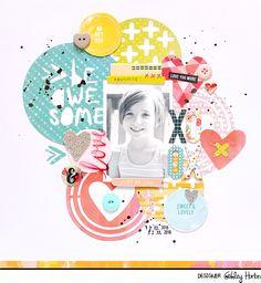 Be+Awesome - Scrapbook.com