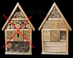 Nisthilfe Insektennisthilfe Insektenhotel Negativbeispiel Praxisuntauglich insect hotel mason bee insect nesting aid