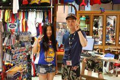 【大阪店】2014.06.21 京都からご家族でご来店頂きました^^終始明るく接して頂きました!本当に楽しかったです^^また遊びに来てくださいね^^カリー似合ってますよ!!