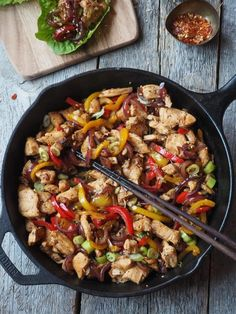Cooking Recipes, Healthy Recipes, Healthy Food, Superfood, Paella, Chicken Recipes, Bacon, Food And Drink, Low Carb