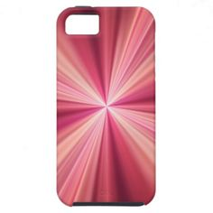#Pink Rays #Fractal #Art #iPhone 5 #cases
