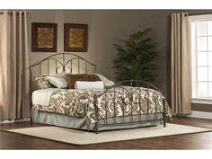 Hillsdale Furniture 1002-460 Zurick Bed Set - Full - Rails not included