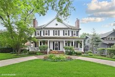 35 Illinois, Colonial, Georgia, Mansions, House Styles, Home Decor, Decoration Home, Manor Houses, Room Decor