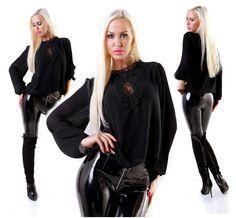 Bluse Spitze von agfashion.de Blouse, Long Sleeve, Sleeves, Fashion, Fashion Styles, Moda, Long Dress Patterns, Blouses, Fashion Illustrations