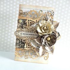 """Here's another beautiful project using the August """"Special Delivery"""" kit! How gorgeous is this card? The kit is available in limited supply so grab yours while you can! #specialdelivery #augustkit #timeless"""