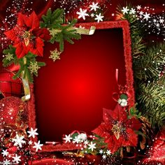 Christmas Frames, Christmas Pictures, Christmas Time, Merry Christmas, Photo Background Images, Photo Backgrounds, Birthday Frames, Hearts And Roses, Winter Scenery