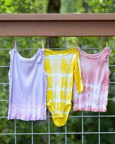 All Natural Tie-Dye DIY