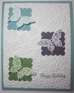 Made a variation of this design.  Card created by Carmen DeBruce, Too Cool Demo Team.