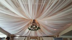 Full ballroom drape oh my!