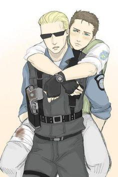 Resident Evil Yaoi