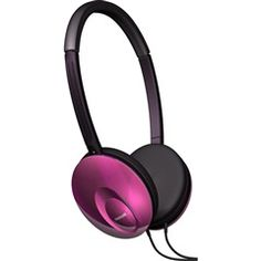 #Red Ultra Thin Compact #Headphones  Maxell 190246 UT-R  PRICE DROP!