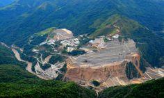Proyecto Hidroeléctrico Ituango. Construido por el Consorcio CCC Ituango. Ituango, Antioquia, Colombia. Obra en ejecución Grand Canyon, Nature, Travel, Barranquilla, Cartagena, Countries, Naturaleza, Viajes