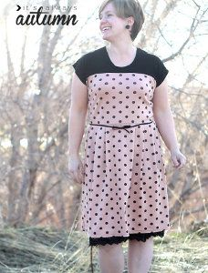 Simple T-Shirt Dress Pattern | AllFreeSewing.com