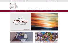 Nombre del proyecto: Diseño y desarrollo de sitio web Bazar del Arte.  Estado a la fecha: Implementado y Funcionando  Descripción del proyecto: Diseño y desarrollo de sitio web con administrador de contenidos y componentes específicos para realizar compras online del catálogo de obras disponibles.