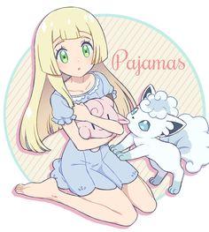 Lillie y Shiron Gladio Pokemon, Pokemon Waifu, Pokemon Moon, Pokemon People, Pokemon Funny, Pokemon Fan Art, Cute Pokemon Pictures, Pokemon Images, Alolan Vulpix
