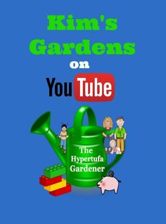 I am at Kim's Gardens on YouTube. Connect there for many tutorials on making hypertufa plus other gardening videos.