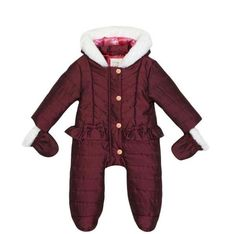 ed46c59bbd99 20 Best Baby Girls Jacket Pramsuits and Snowsuits images