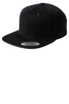 Sport Tek® Flat Bill Snapback Cap $7.98/ea | SanMar STC19  Americana Sportswear