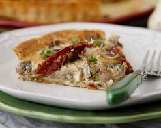 Sun-Dried Mushroom Tart | Mother's Day Inspired Recipe