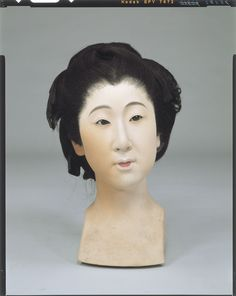 Raw doll _ Tokugawa era palace maid body Tokyo National Museum Image ID:C0098398 Shooting site:Front Column article number:I-866 Age:Meiji era _20c shape:High 38.0