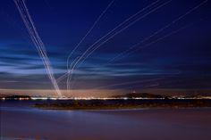 long exposure takeoffs