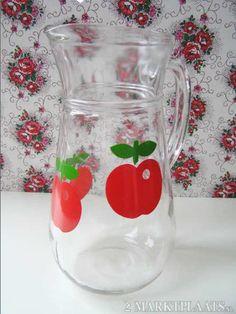 Henkel gulf apple jar jug glass