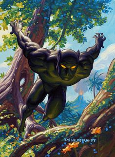 *Ruler of the African kingdom of Wakanda, the ebon Avenger known as the Black Panther is both as swift and silent as his namesake! *Source: Card back Black Panther Fleer Trading Card 1994 Marvel Maste Marvel Comic Character, Comic Book Characters, Comic Book Heroes, Marvel Characters, Comic Books Art, Comic Art, Character Art, Book Art, Marvel Dc
