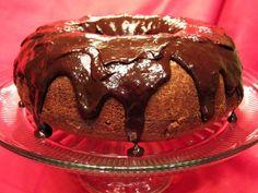 Chocolate Sweet Potato Bundt Cake with Chocolate Ganache (it's vegan too!)