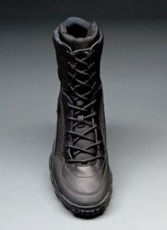 """Oakley SI Assault Boot 8"""" Black Military Police Tactical Hiking Shoe New 11 5 