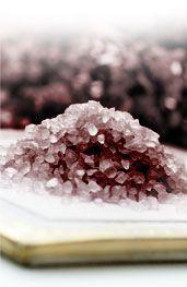 Černá sůl - fotka krystalů Korn, Salt, Salts, Grains