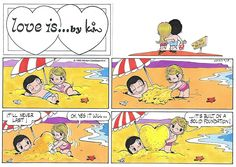 Love is... Sunday 14 August 2016 | Bill Asprey Cartoons & Comic Strips
