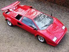 Lamborghini Countach, boy did I love this car as a kid.
