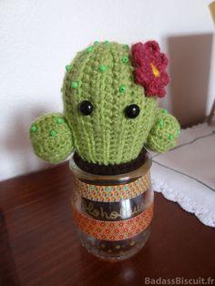 Amigurumi Cactus crochet by BadassBiscuit.fr Free pattern !