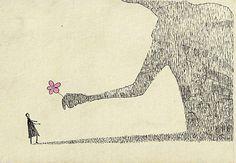 New illustrations by Japanese artist Mozneko