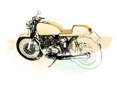 Cafe Racer Project on Behance