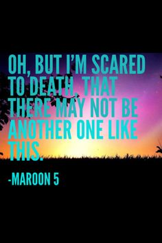"""Sad"" by Maroon 5 is literally one of my favorite songs of all time. So emotional and raw"
